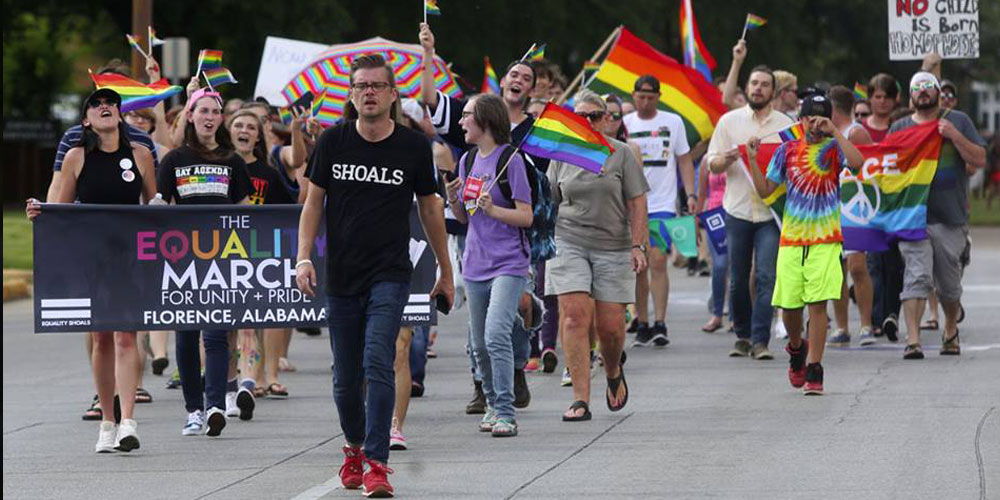Alabama Police Call It an 'Honor' to Protect the KKK at LGBTQ Pride March