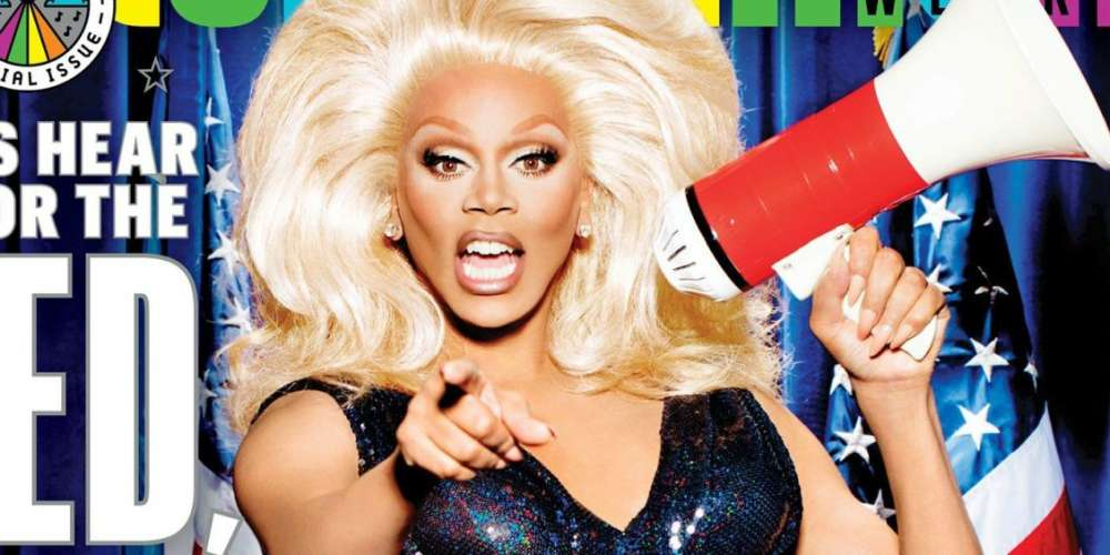 President RuPaul Graces the Cover of 'Entertainment Weekly'