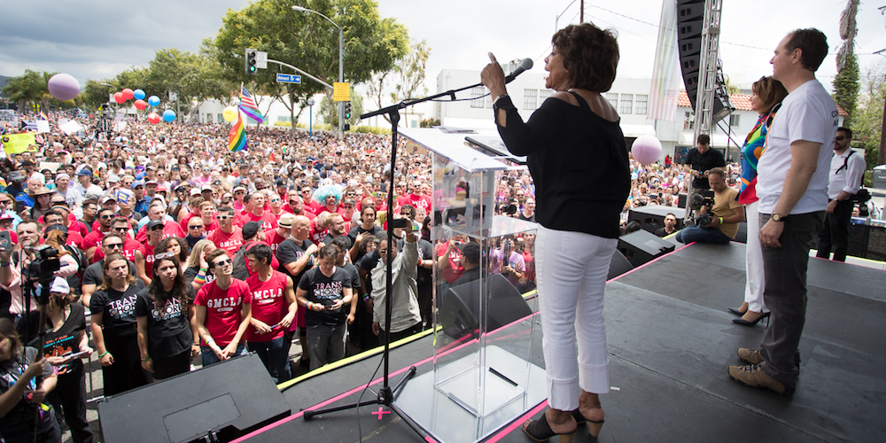 #ResistMarch Withdrawal? Check Out This Footage From the L.A. Rally