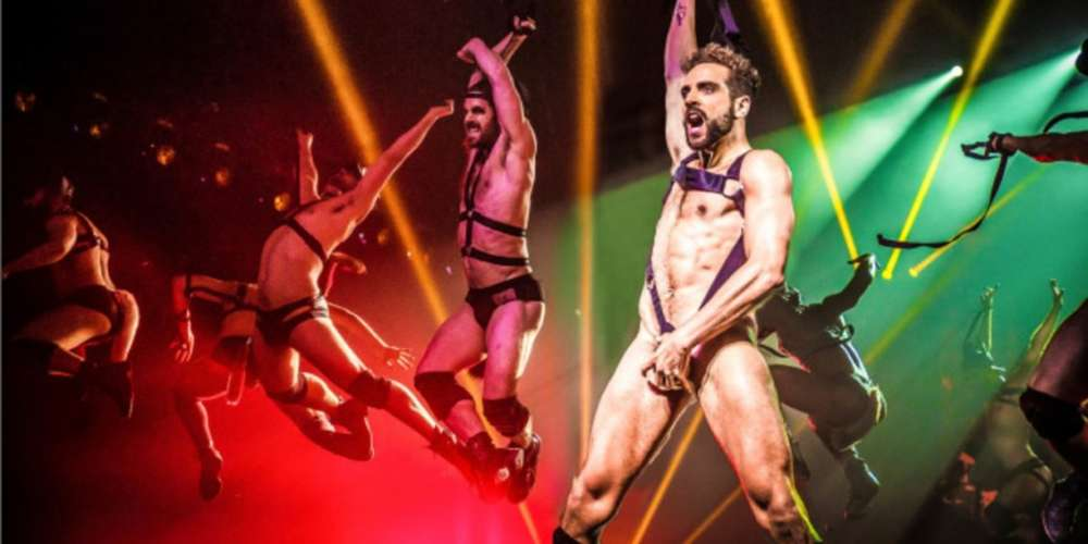 Watch New York's Striptease Spectacular 'Broadway Bares' Go Back to School