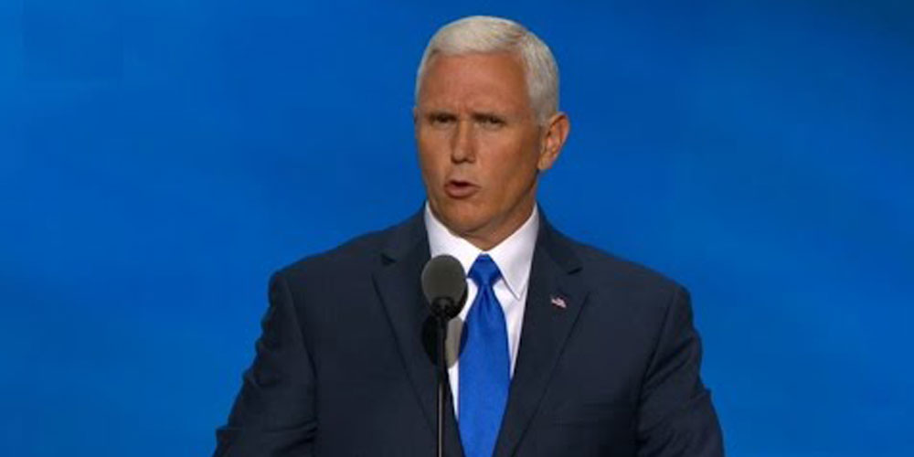 Vice President Mike Pence Celebrates Pride by Speaking to an Anti-LGBT Group