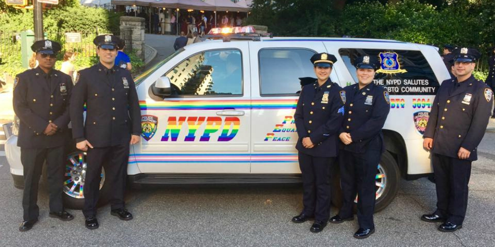 New York's Police Department Gets Real Gay for Pride