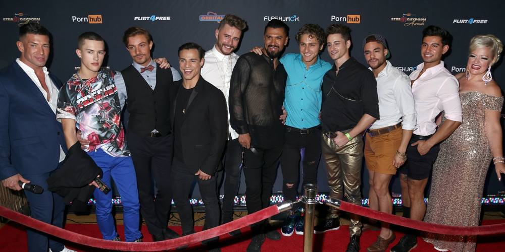 25 Pics From the Gay Porn Awards That Took NYC Pride By Storm