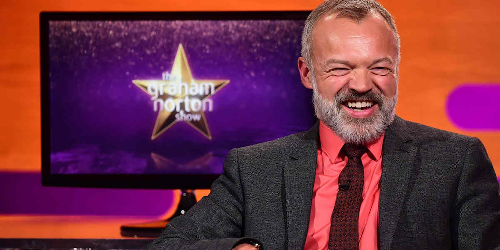 Graham Norton Has the Best 'Big Red Chair' Story We've Ever Heard