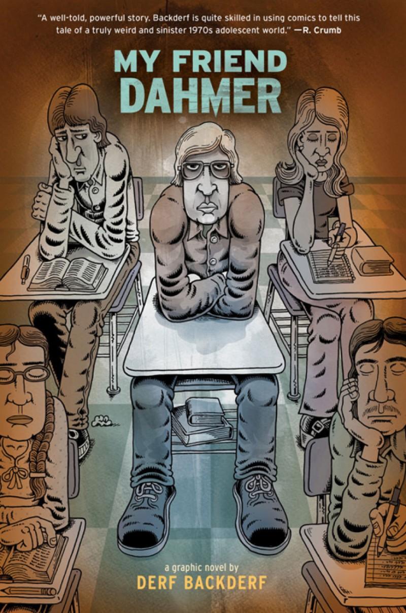 my friend dahmer cover