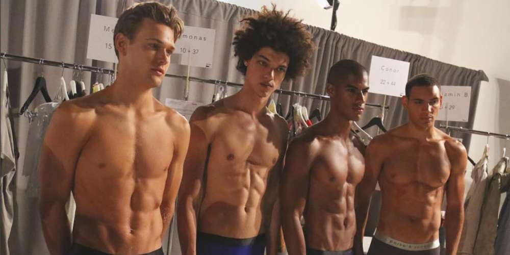 20 Sexy Pics From Park & Ronen's Show at NYFW: Men's