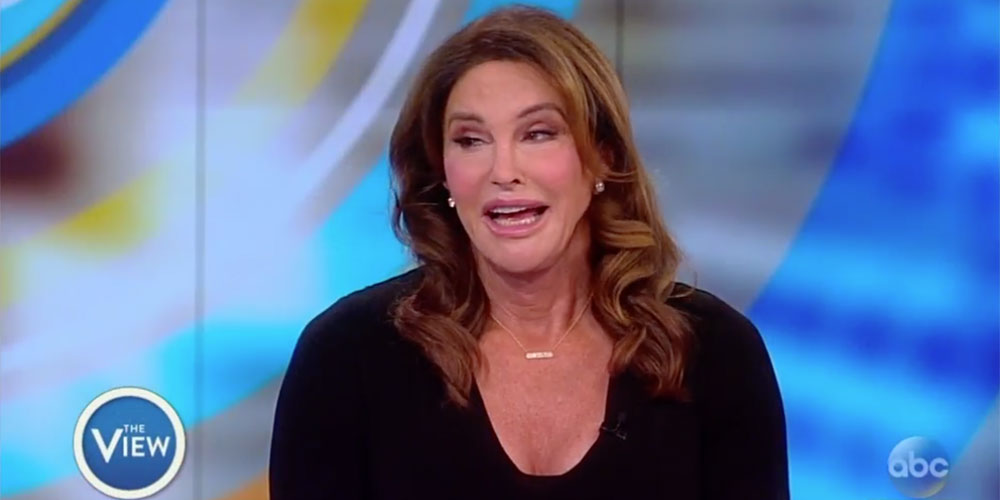 Trans Celebrity Caitlyn Jenner Defends Donald Trump on 'The View' (Video)