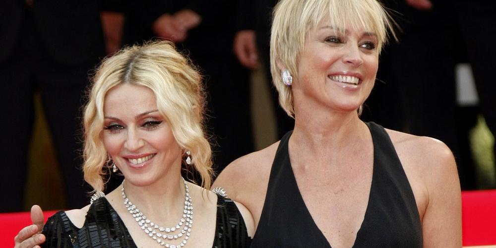 Sharon Stone Posts Epic Response to Madonna's Trash-Talking Letter