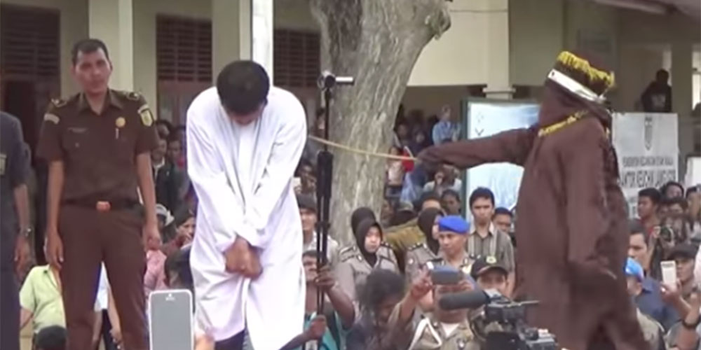 Indonesia Will Start Caning Gay People in Private Where Social Media (and Investors) Can't See