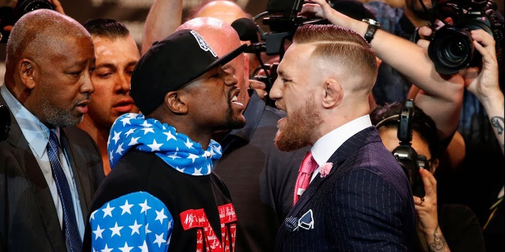 Boxer Floyd Mayweather Calls Conor McGregor an Anti-Gay Slur
