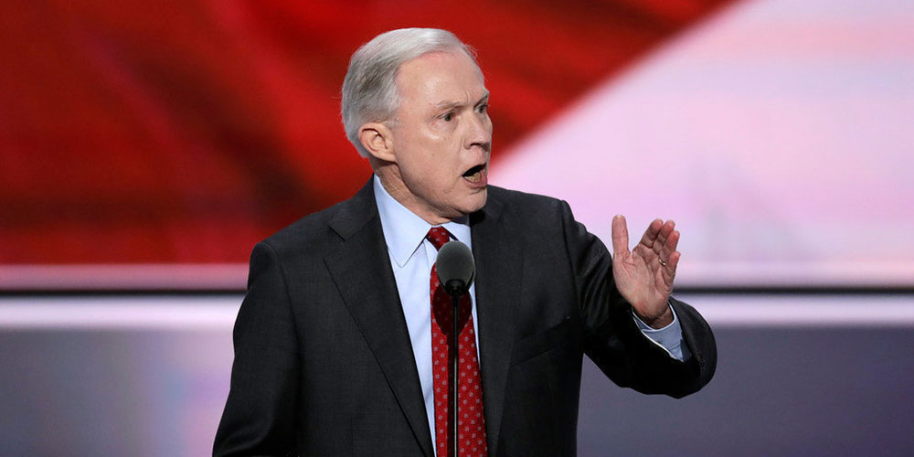Here's the Secret Speech U.S. Attorney General Jeff Sessions Gave to an Anti-LGBTQ Hate Group