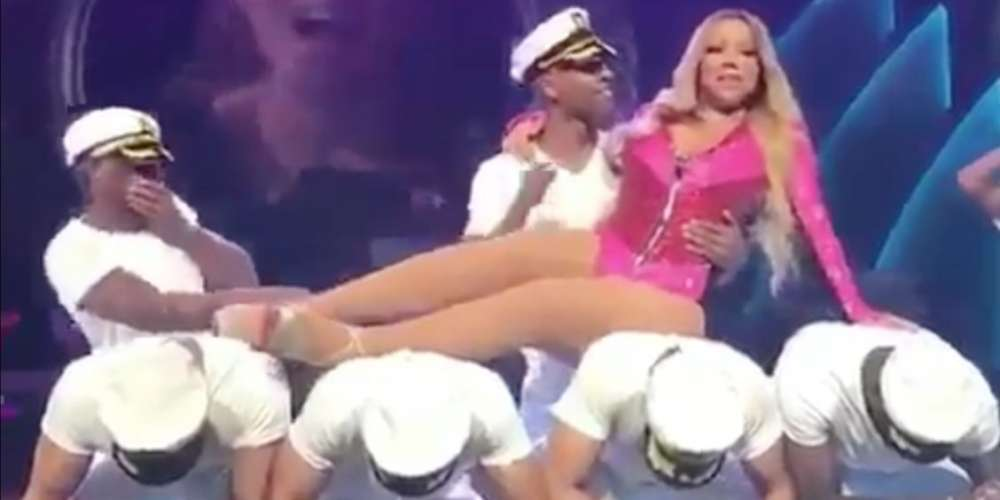 Doing the Absolute Bare Minimum: Video of Mariah Carey's Lazy Dancing Goes Viral