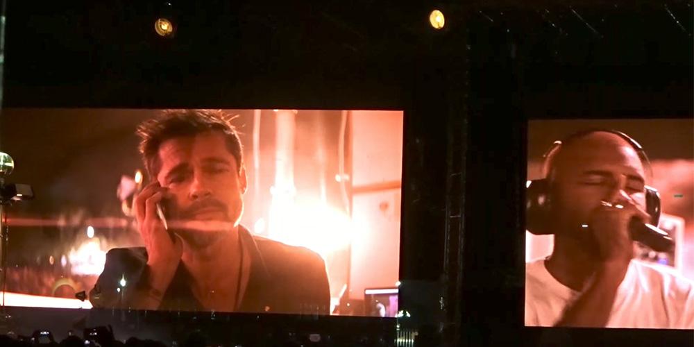 Bisexual Wunderkind Frank Ocean Serenades Brad Pitt With Luscious Soul Music (Video)