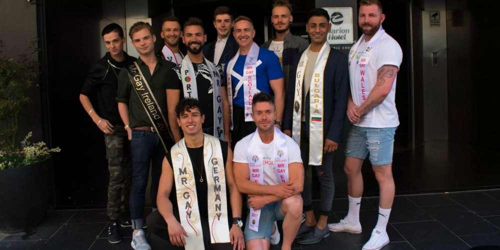 Découvrez les 11 hommes très sexy qui rivalisent pour être Mr. Gay Europe 2017