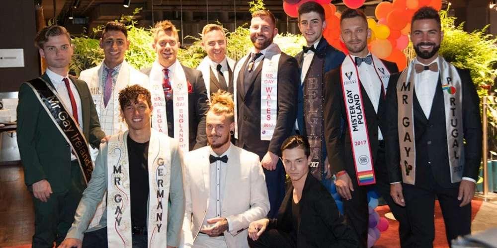 11 mecs sexy se sont affrontés pour le titre de Mr. Gay Europe, et voici le gagnant