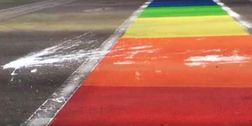 Vandals Have Defaced Rainbow Crosswalks 6 Times in the Last Year (Video)