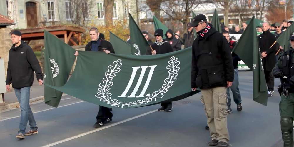 Let's Remember the Time a Small Town Tricked Neo-Nazis Into Marching Against Neo-Nazis