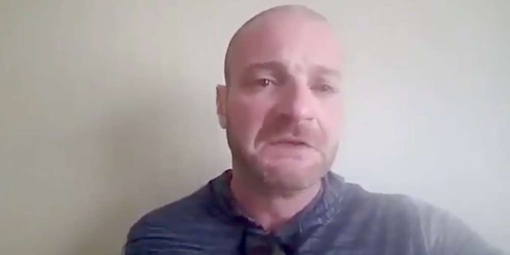 Crying Neo-Nazi Christopher Cantwell Is Sad He's Wanted for Arrest in Charlottesville