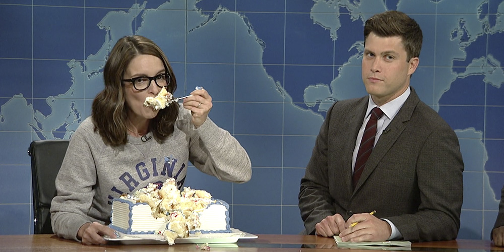 The 5 Best Zingers From Tina Fey's Hilarious 'Weekend Update' Charlottesville Response