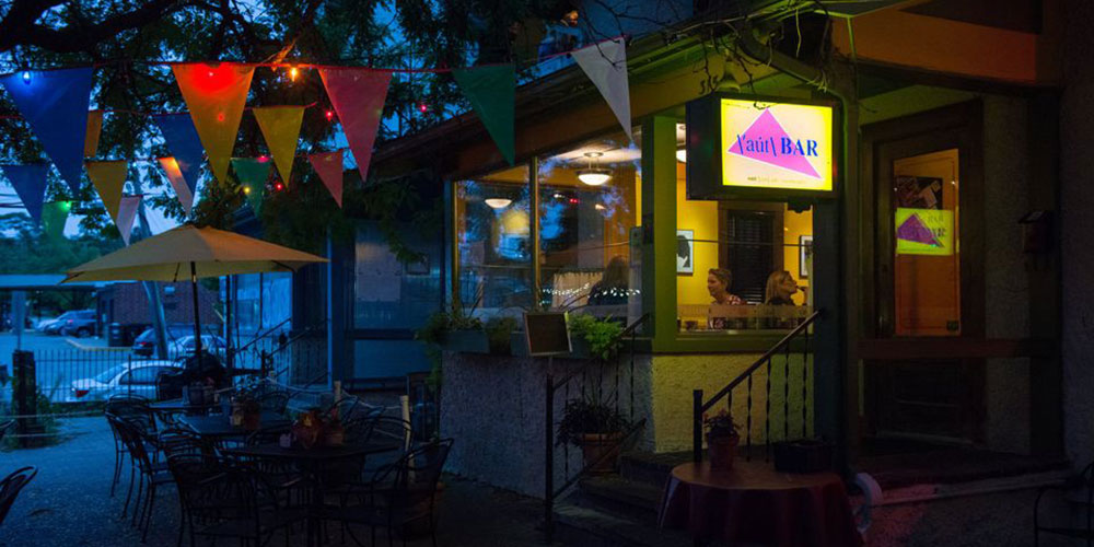 A Vandal Destroyed Rainbow Flags and More at the Aut Bar in Ann Arbor