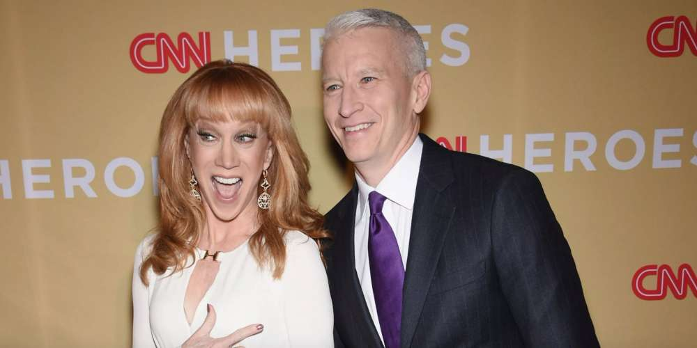 Kathy Griffin Has Ended Her Friendship With Anderson Cooper, and Here's Why