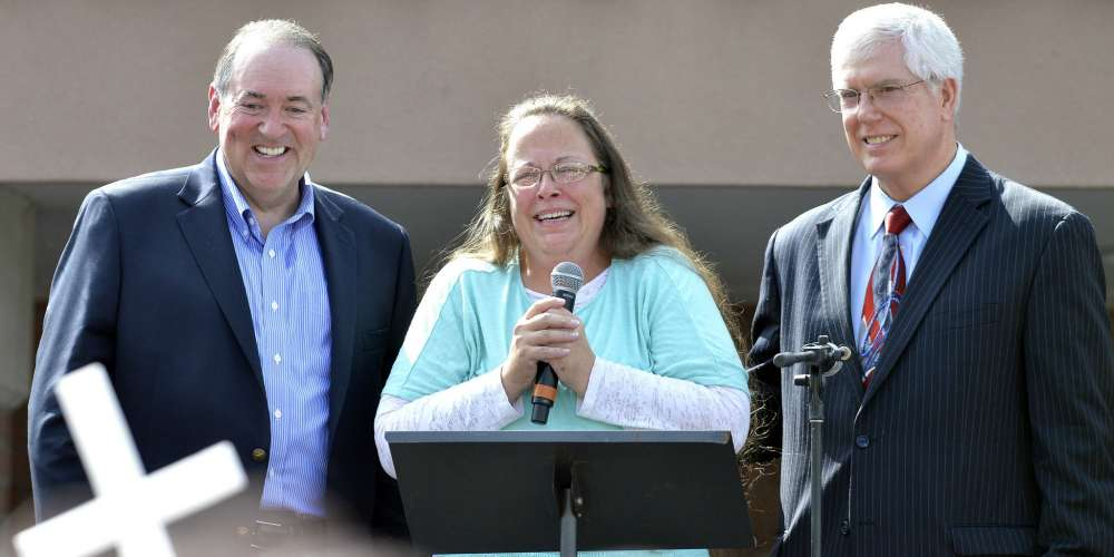 Kim Davis' Lawyer: Anti-Gay Groups Are Persecuted Like 'Jews in Nazi Germany'