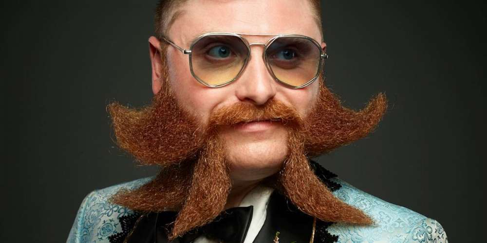 Check Out 21 of the Best Beards and Moustaches from the 2017 World Championships