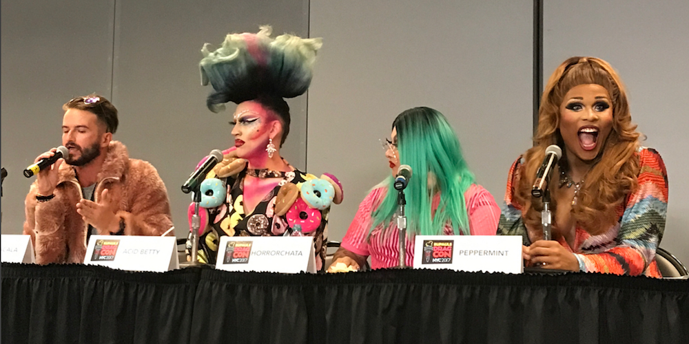 En vivo desde #DragConNYC 2017 Día 1: Fotos y Video del Fabuloso Evento Drag