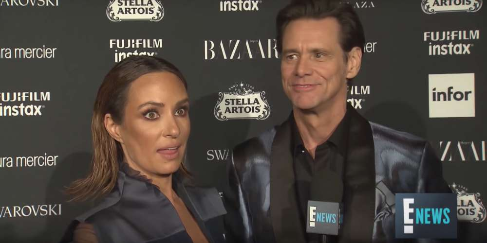 'There's No Meaning to Any of This': Jim Carrey Gives Craziest Red Carpet Interview Ever