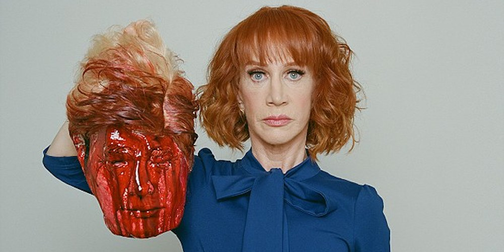 Tyler Shields Wants to Sell Prints of Kathy Griffin's 'Beheaded Trump' Photo
