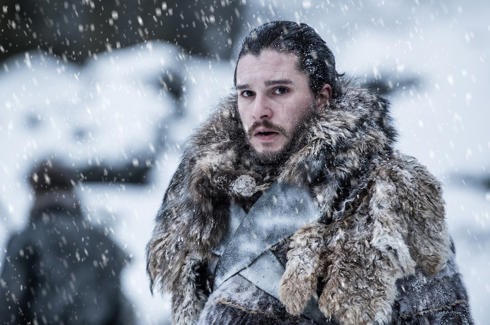 hottest game of thrones men jon snow