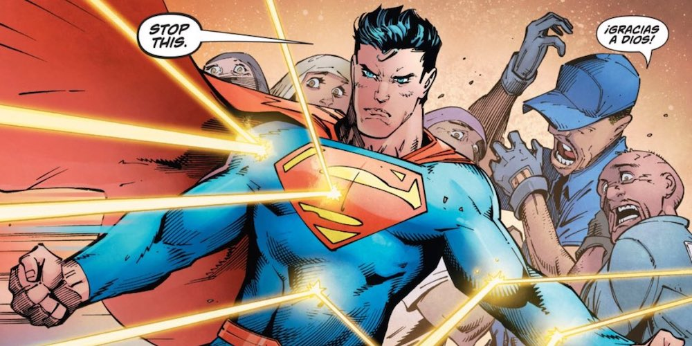 Superman Goes Back to His Roots and Fights White Supremacy
