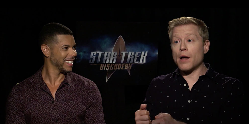 Here's a Preview of the New 'Star Trek' Gay Couple, Anthony Rapp and Wilson Cruz