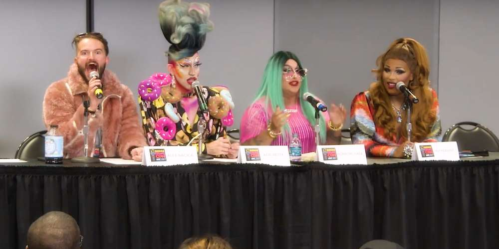Watch Peppermint, Acid Betty and Horrorchata Dish on NYC Drag at DragCon NYC 2017