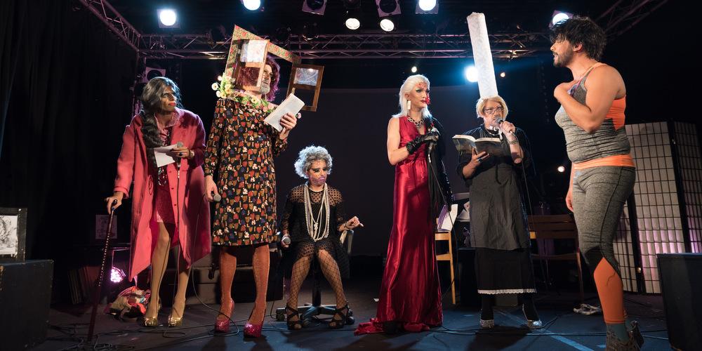 Photo: La rentrée merveilleuse des Paillettes, les «drag queers»