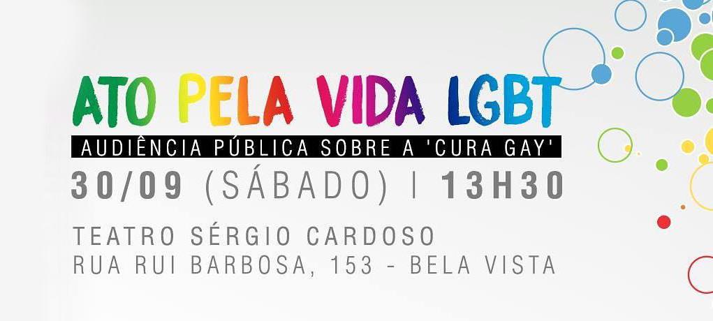 ILADH promove ato pela vida LGBT contra a cura gay