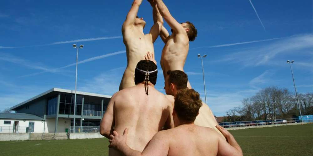 These 6 British Rugby Teams Stripped Completely Naked for a Good Cause (NSFW)