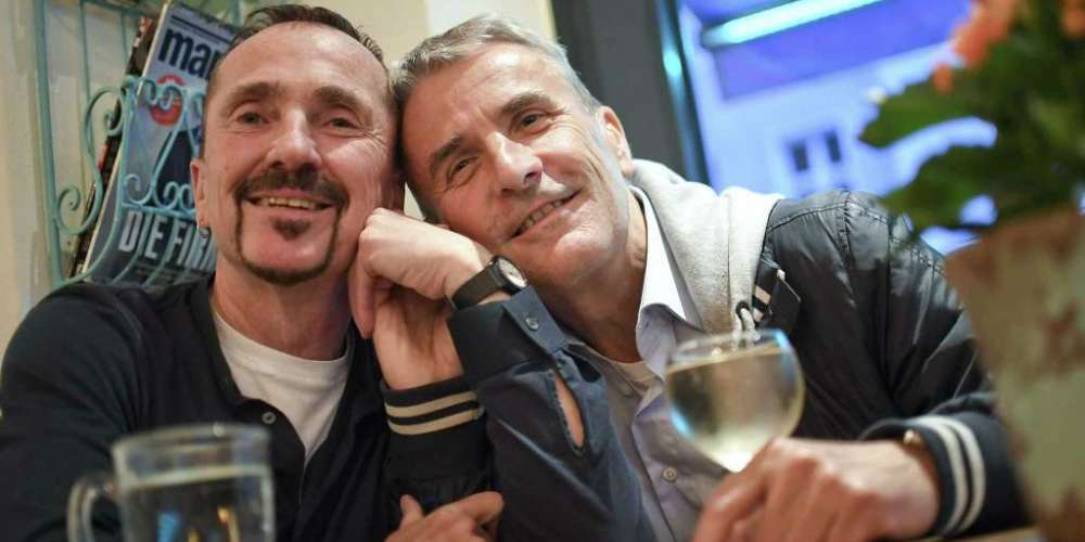 Meet the First Gay Couple to Get Hitched in Germany