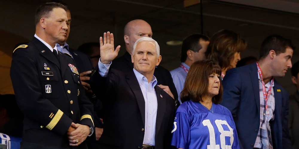 Here's How Much Our Stunt Queen VP's Football Walkout Cost American Taxpayers