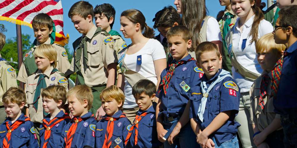 Whoa! The Boy Scouts of America Will Begin Admitting Girls Next Year