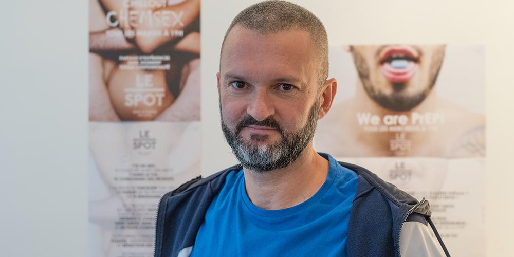 Stephan Vernhes, à propos du chemsex: «Il faut remettre du lien dans la communauté pour qu'on puisse en parler»
