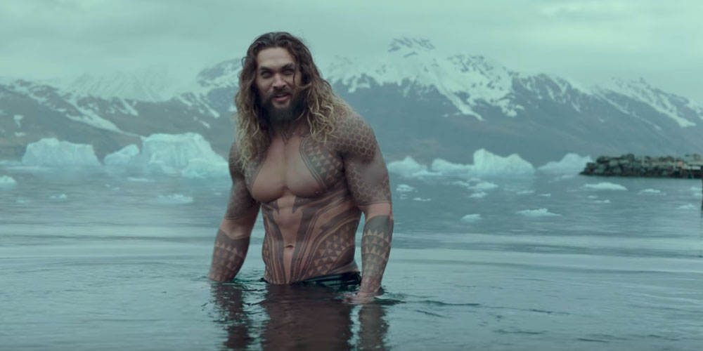 These 15 Sexy Pics of 'Aquaman' Actor Jason Momoa Will Have You Sweating Serious Saltwater