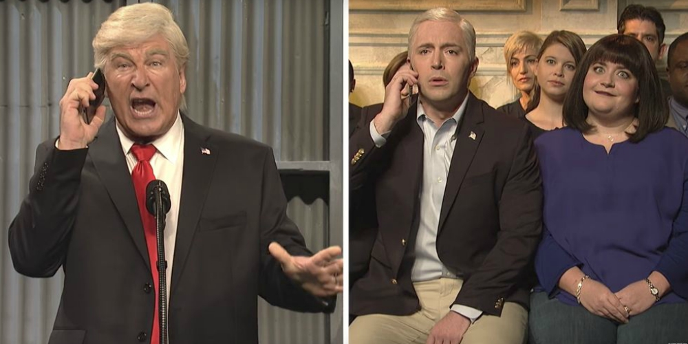 Mike Pence Attends a Gay Wedding on 'Saturday Night Live'