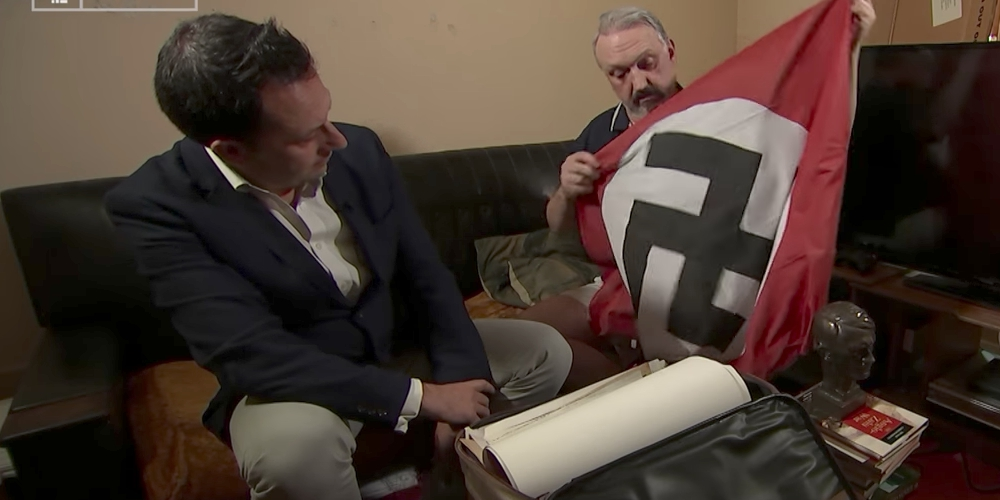 This Violent Neo-Nazi Leader Just Came Out as Gay and Jewish After Being Bashed (Video)