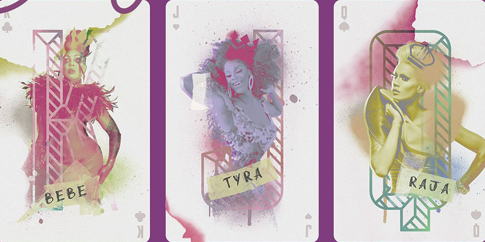 This Colorful 'Drag Race' Playing Card Deck Is Chock Full of Queens
