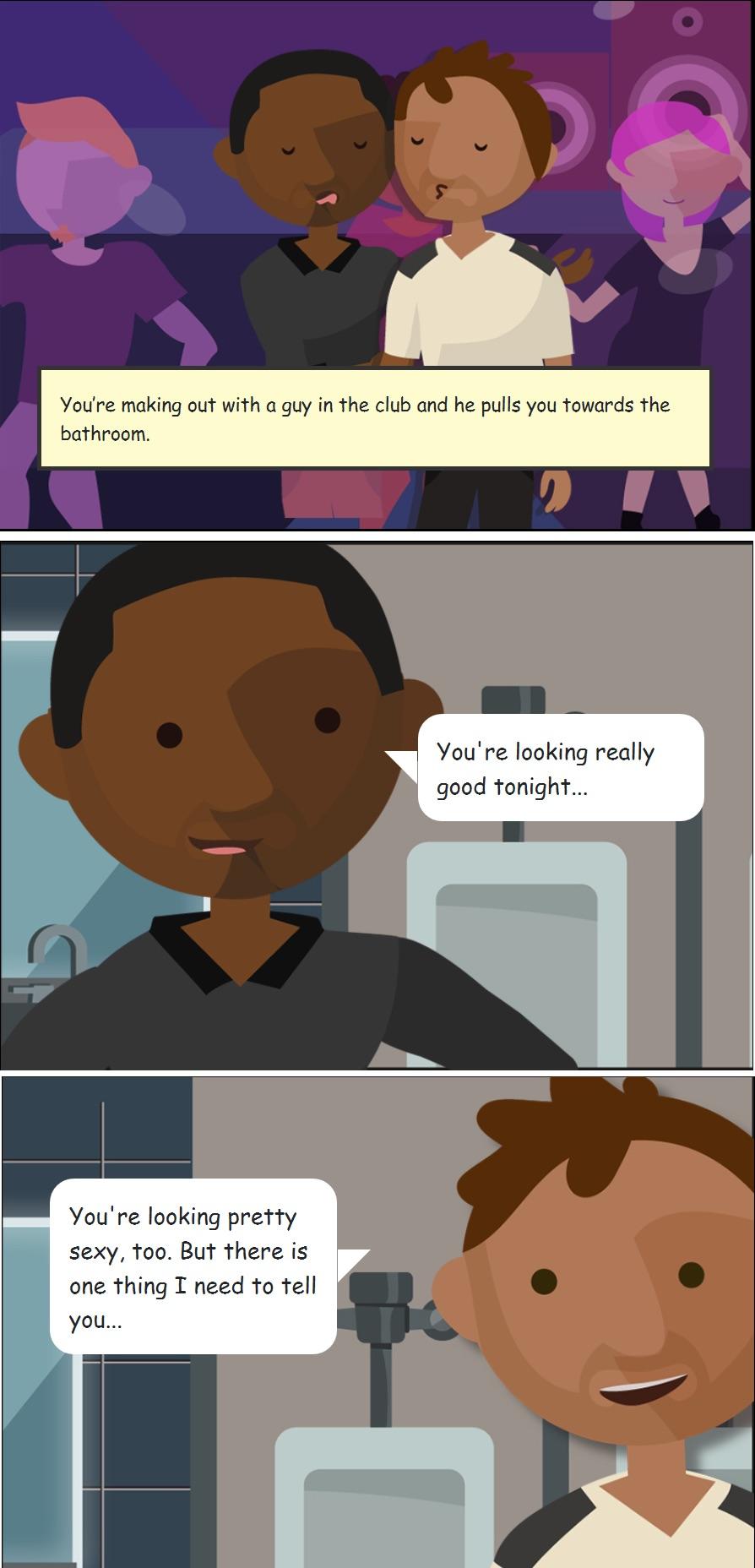 tough talks contest comic example