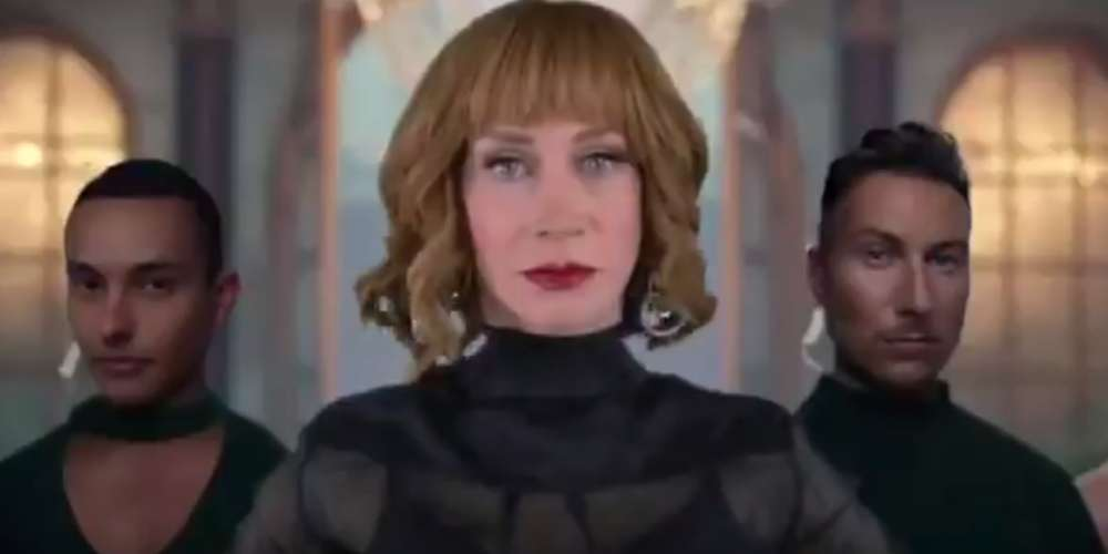 Kathy Griffin Can't Come to the Phone in This 'Look What You Made Me Do' Parody Video