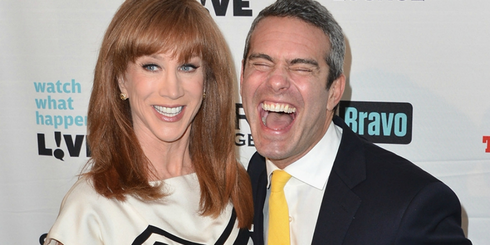 Watch Andy Cohen Pull a Mariah Carey and Shade Kathy Griffin