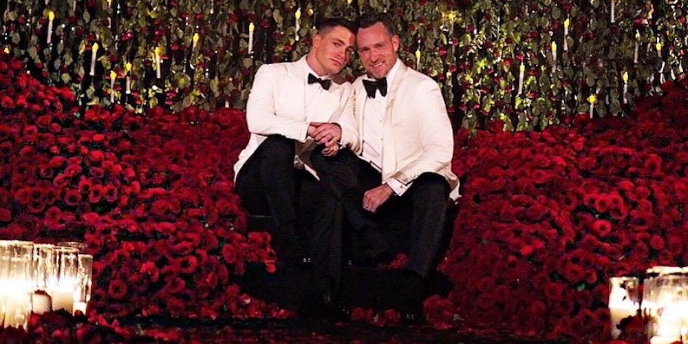 Colton Haynes Just Shared Video of His Cher-Inspired Wedding Toast