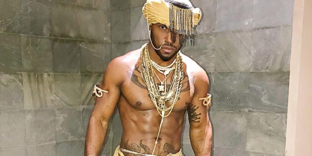 Out Rapper Milan Christopher's Halloween Costume Leaves Little to the Imagination (NSFW)
